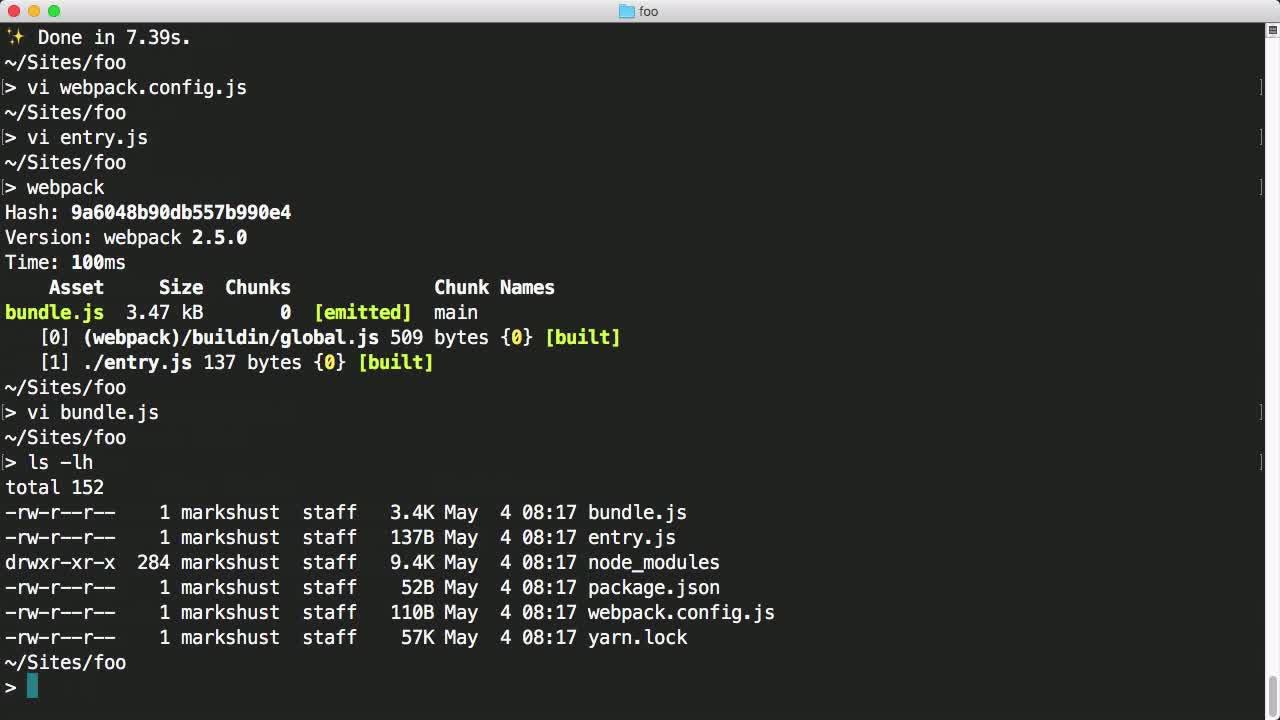 webpack tutorial about Configure Prepack with Webpack
