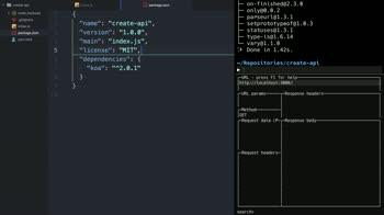 javascript tutorial about Create a modern web API using Koa v2 and ES2017