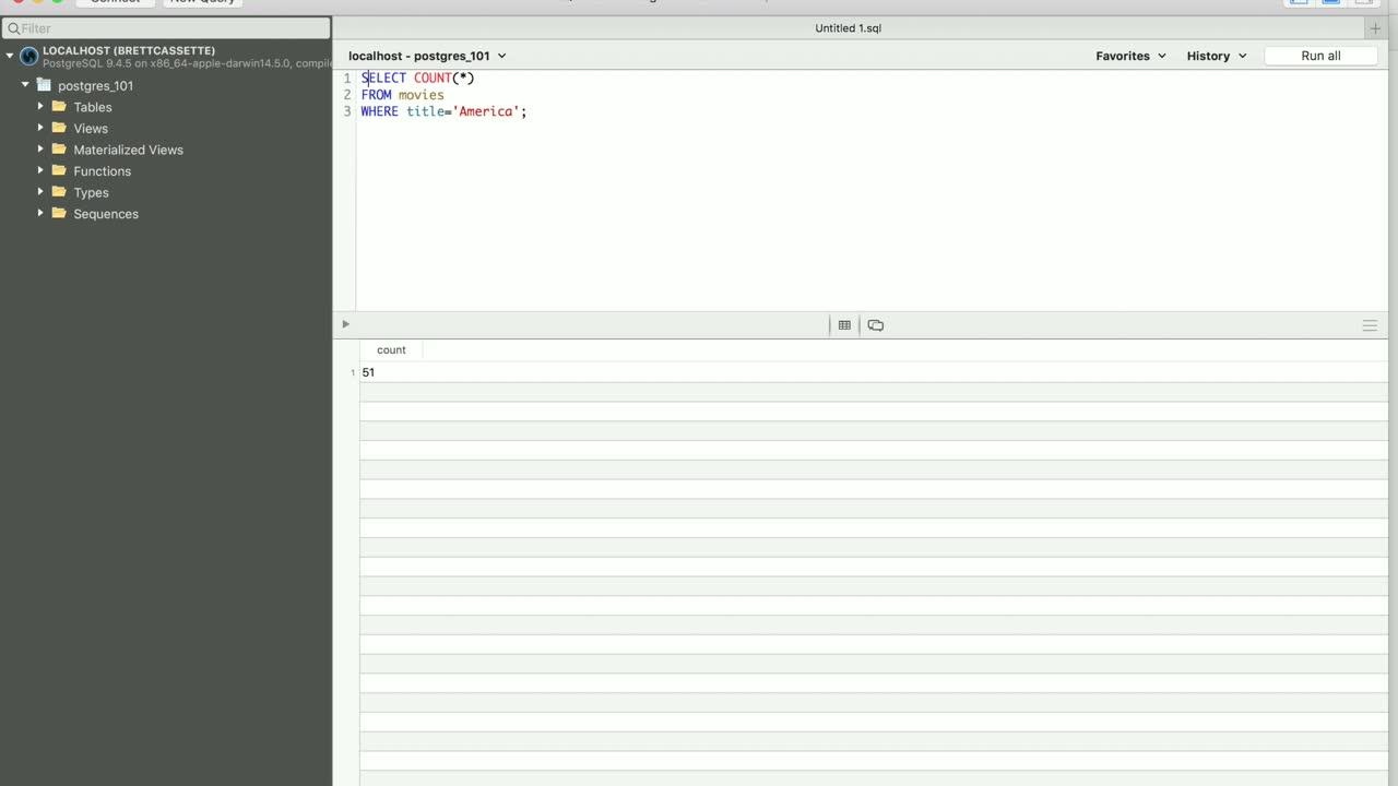 postgres tutorial about Speed Up Postgres Queries with Indexes