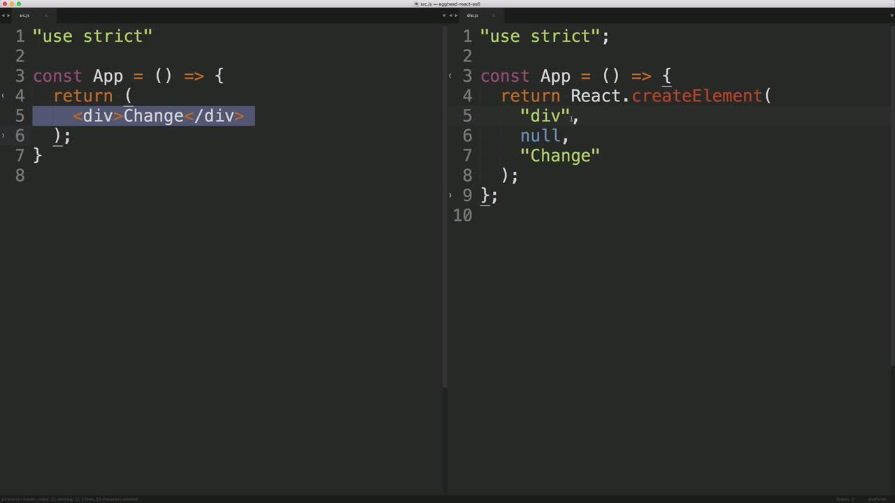 AngularJS tutorial about Precompile JSX