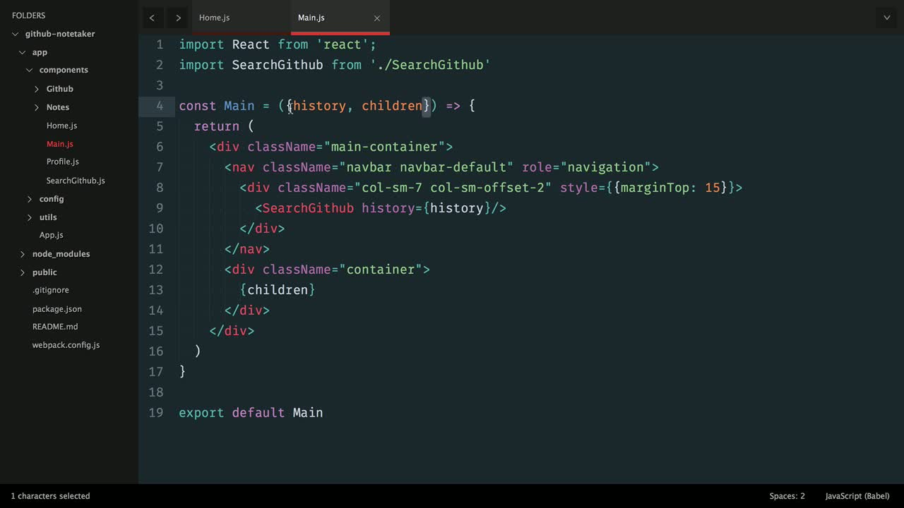 AngularJS tutorial about Building a React.js App: Utilizing Stateless Function Components