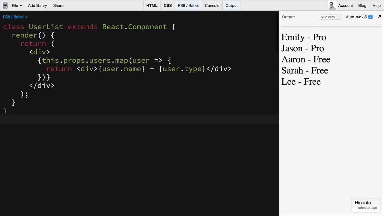 Building Stateless Function Components New In React 0 14