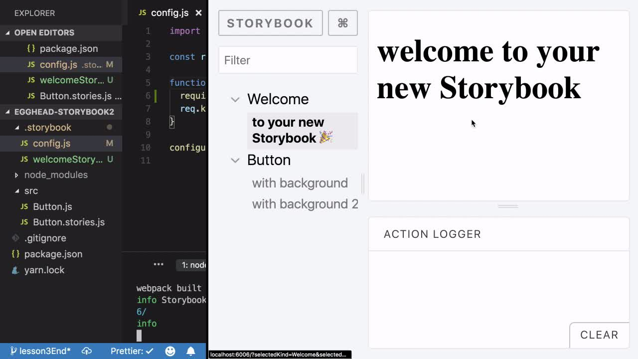 Design Systems with React and Typescript in Storybook from