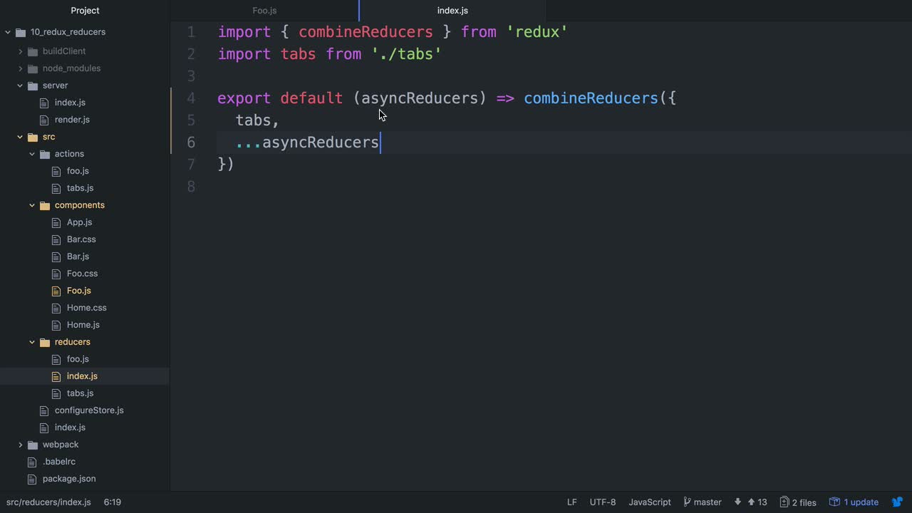 Build a Server Rendered + Code Split App in React with React