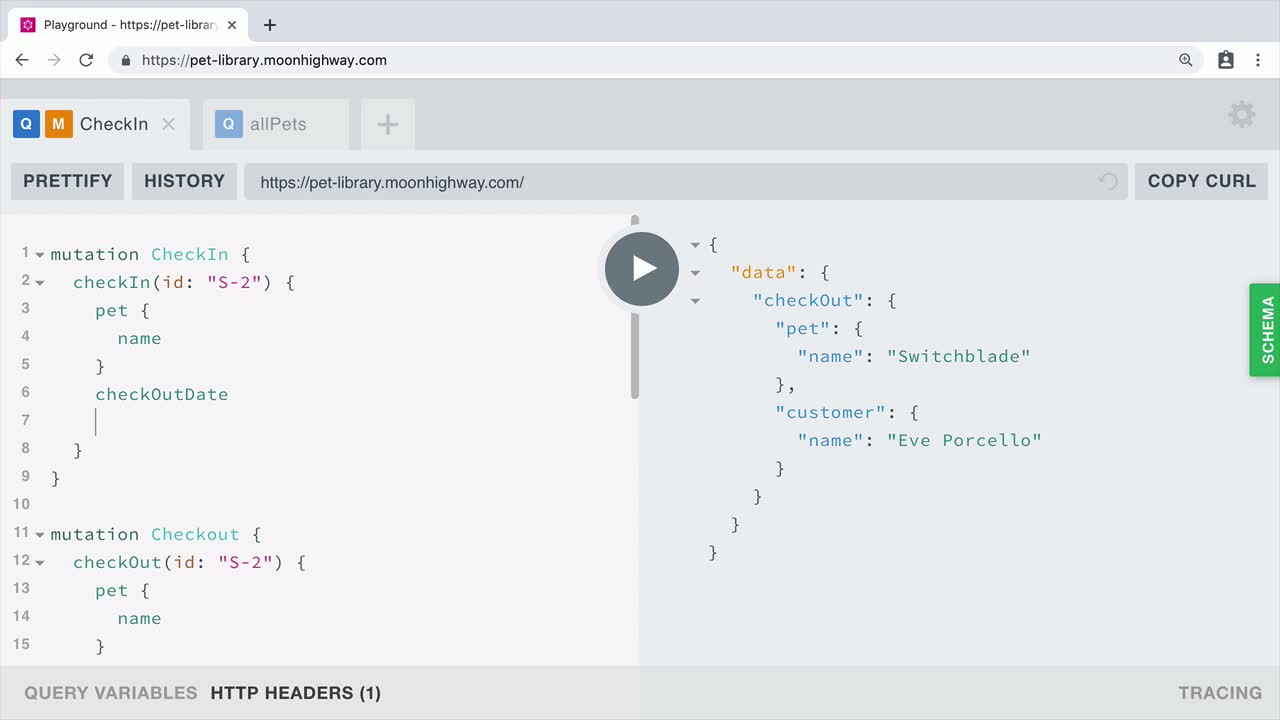 GraphQL Query Language from @eveporcello on @eggheadio