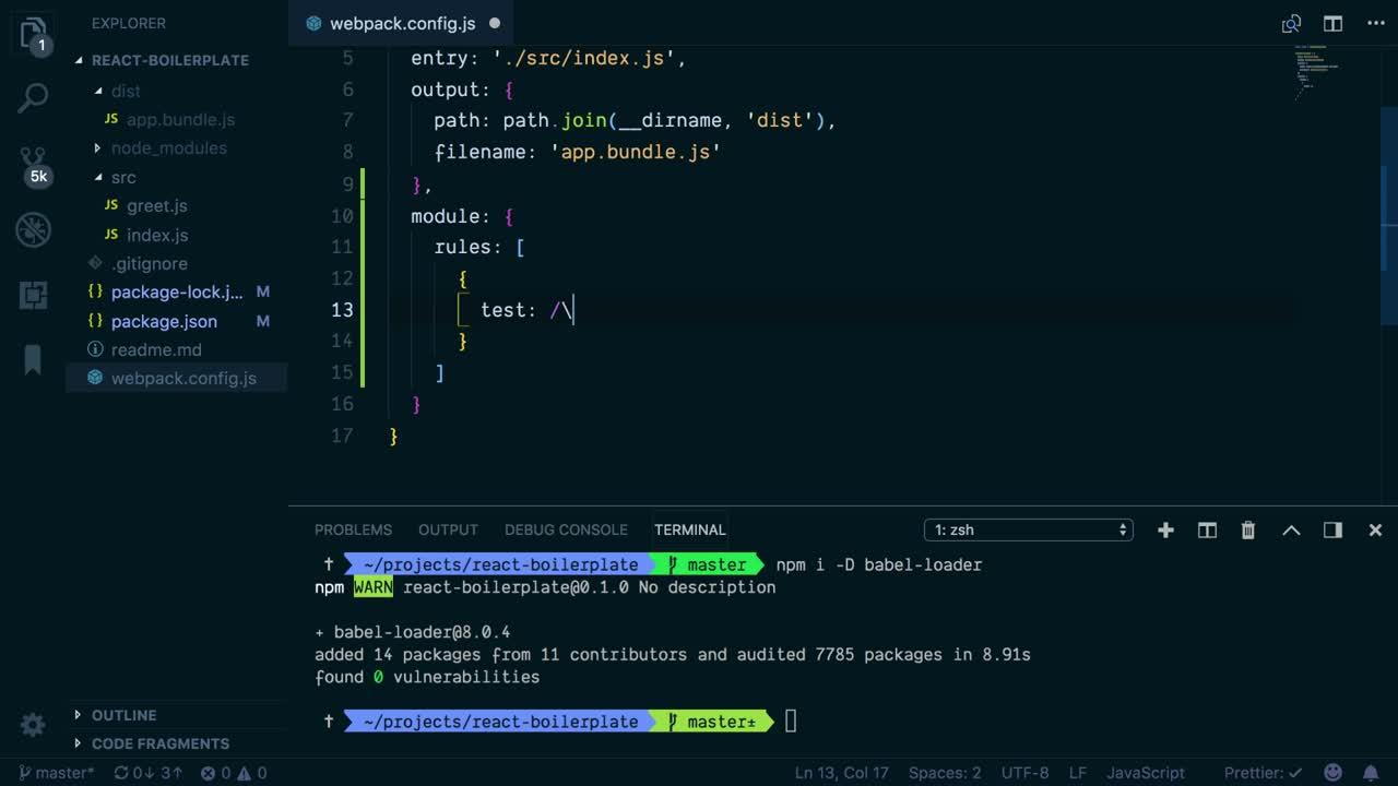 Modern JavaScript Tooling with React from @avanslaars on