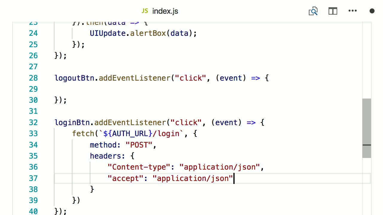 JSON Web Token (JWT) Authentication with Node js and Auth0