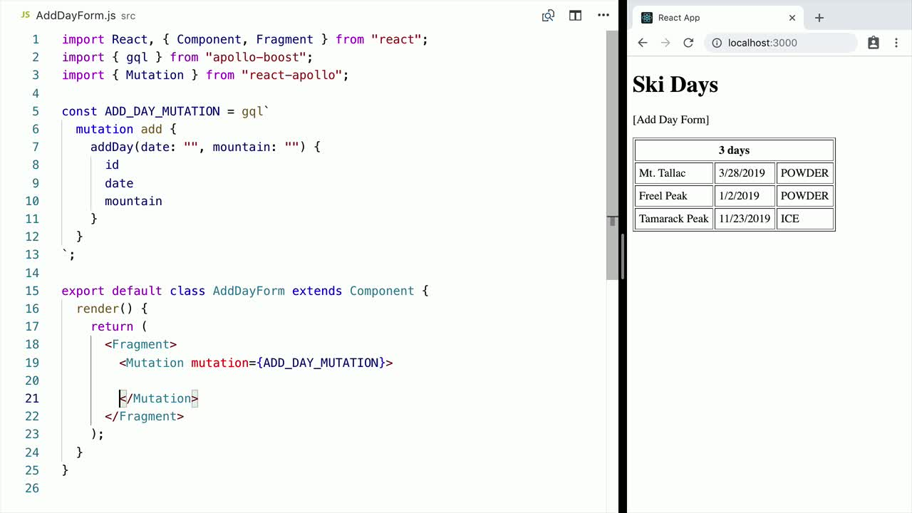 Playlist - Create Fullstack Applications with GraphQL and