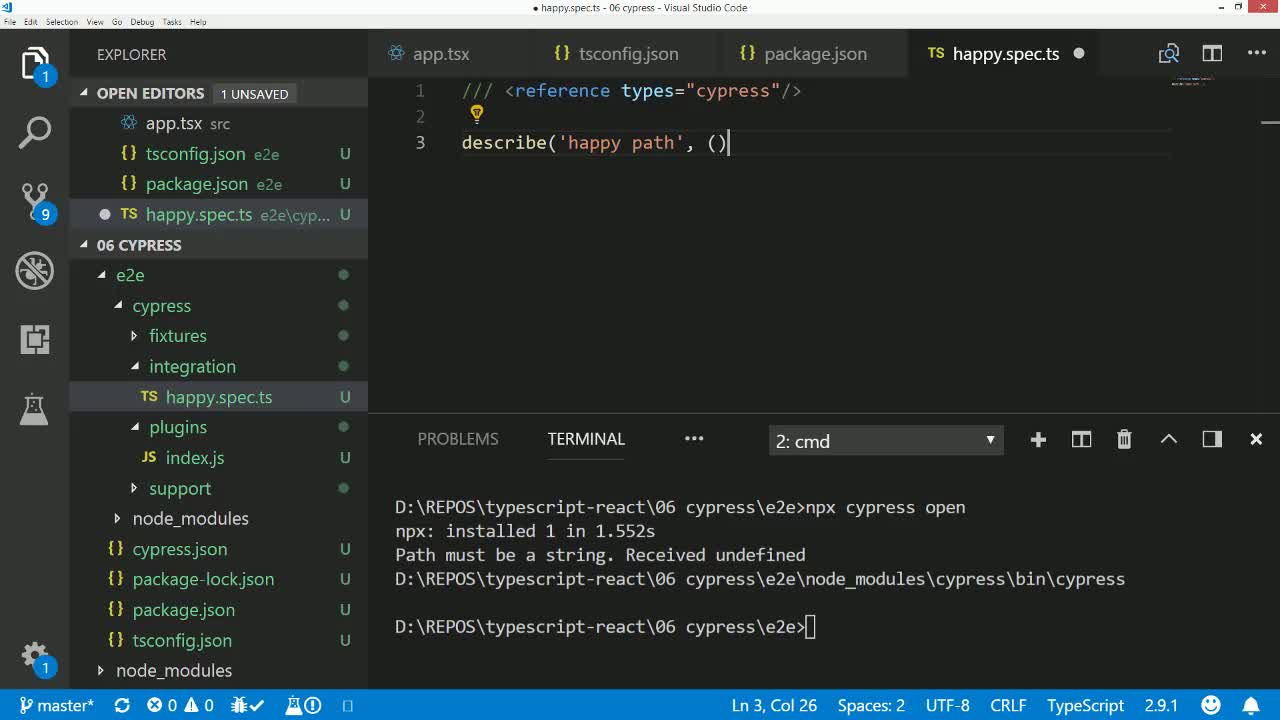 Use TypeScript to develop React Applications from @basarat