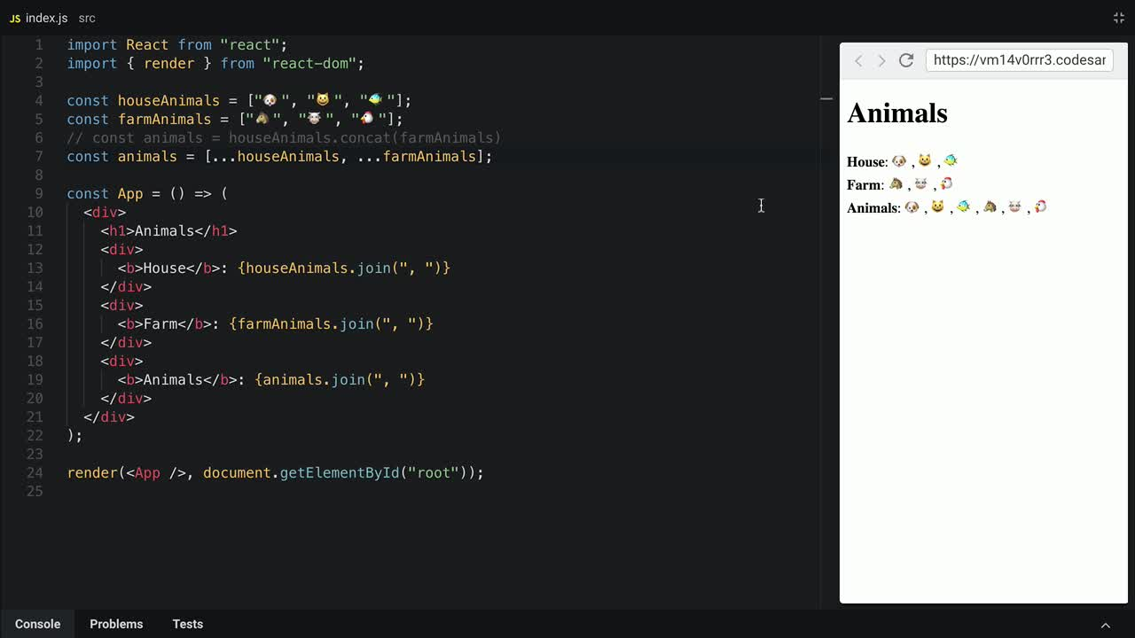 javascript tutorial about The difference between the Spread and Rest syntax