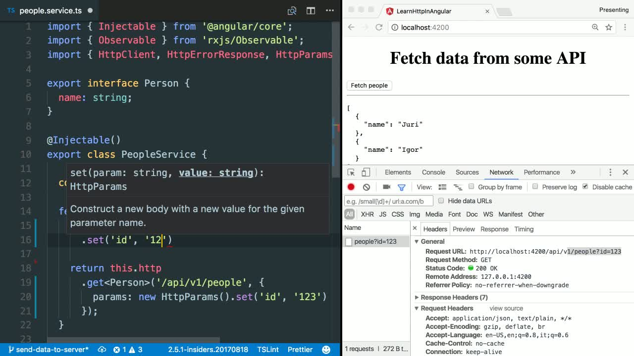 Learn HTTP in Angular from @juristr on @eggheadio