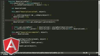 angularjs tutorial about Serializing and Deserializing Data Models in AngularJS