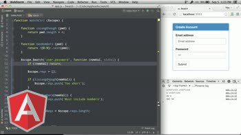 angularjs tutorial about The basics of $scope.$watch