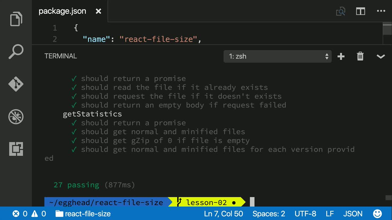 otherjs tutorial about Run the basic npm scripts