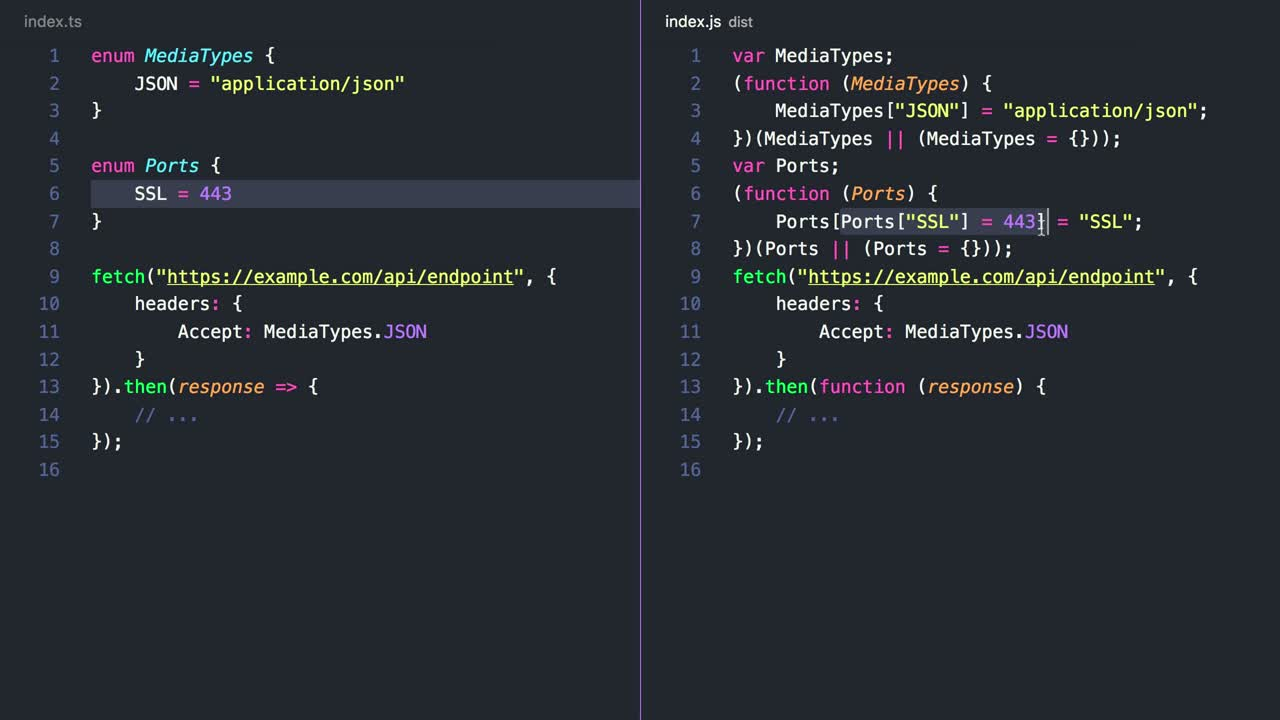 typescript tutorial about Collect Related Strings in a String Enum in TypeScript