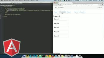 angularjs tutorial about ui-router: Activating States