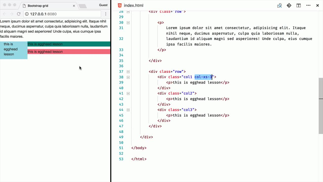 css tutorial about Understand the Bootstrap Grid system