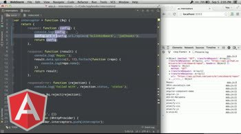 angularjs tutorial about Using AngularJS interceptors with $http