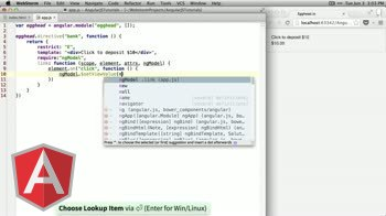 angularjs tutorial about Using ngModel in Custom Directives
