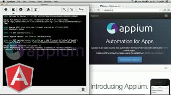 angularjs tutorial about Using Protractor to Test Mobile Safari with Appium
