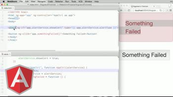 angularjs tutorial about Using Services in Angular Directives