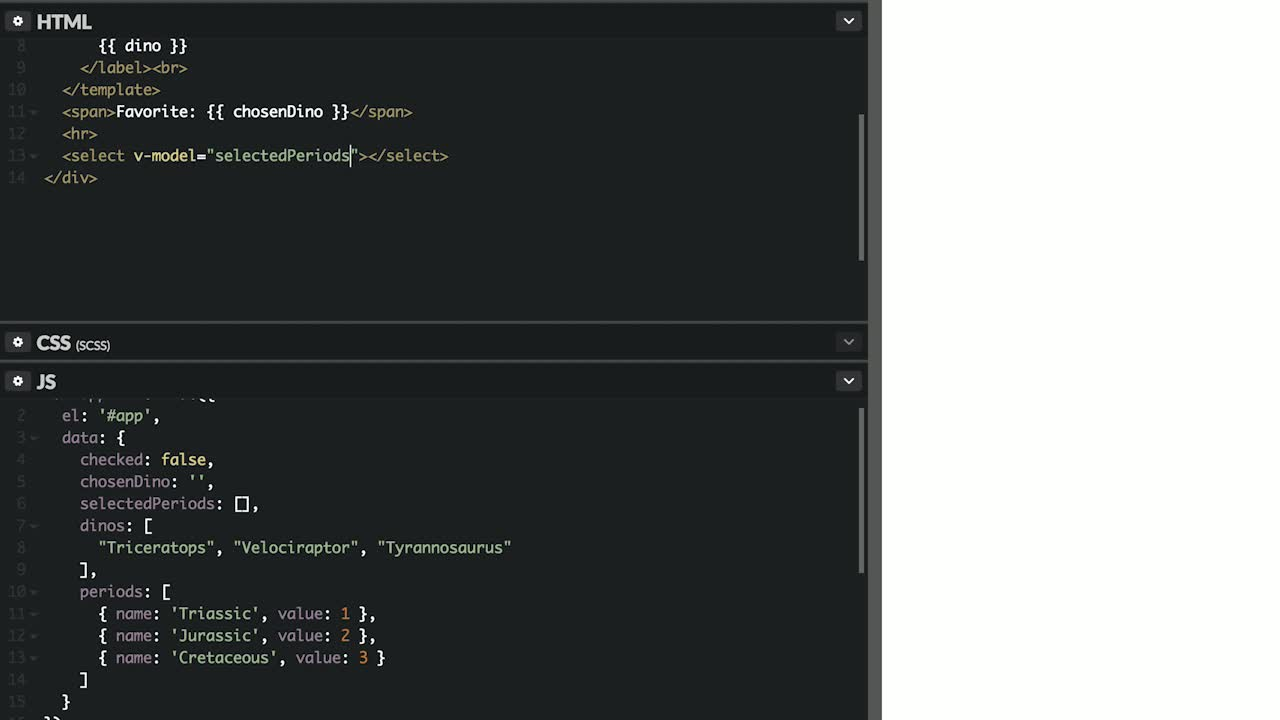 AngularJS tutorial about Bind Values to Input Fields in Vue.js