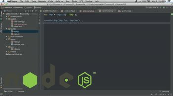 node tutorial about What are CommonJS Modules?